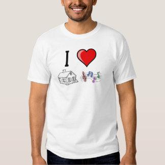 SebasProductions I love House Music Shirt