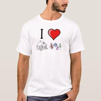 SebasProductions I love House Music T-Shirt