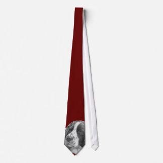 Sebastian, English Springer Spaniel Neck Tie