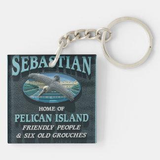 Sebastian, FL Keychain