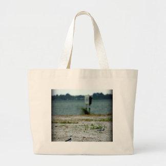 Sebastian Inlet Sanctuary Large Tote Bag
