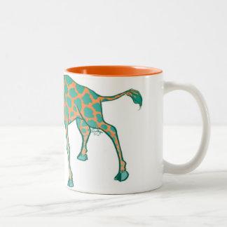 Sebastian la taza de la jirafa