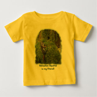 SEBASTIAN SQUIRREL KIDS Gifts Baby T-Shirt