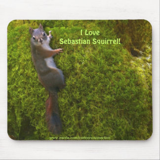 SEBASTIAN SQUIRREL KIDS Gifts Mouse Pads
