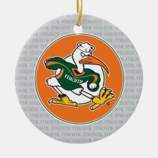 Sebastian The Ibis Ceramic Ornament