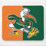 "Sebastian The Ibis Mouse Pad<br><div class=""desc"">Get all of the best University of Miami gear at Zazzle.com! Support the Hurricanes in style with these products that are perfect for students, alumni, family, and fans. All of these products are customizable with your name, your sport, or your class year. Represent the U by sporting Green and Orange...</div>"