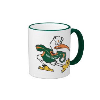 Sebastian The Ibis Ringer Coffee Mug