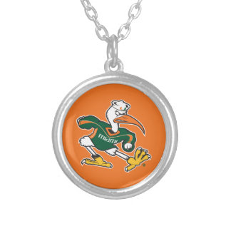 Sebastian The Ibis Silver Plated Necklace