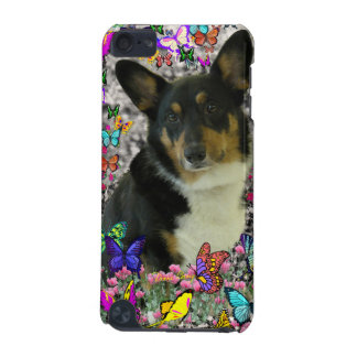 Sebastian the Welsh Corgi in Butterflies iPod Touch (5th Generation) Case