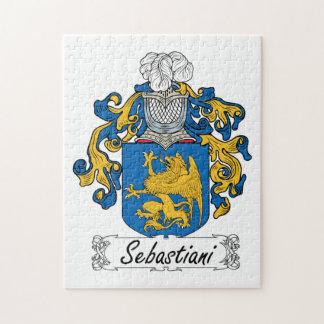 Sebastiani Family Crest Jigsaw Puzzle