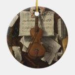 Sebastiano Lazzari Trompe - notas del violín y de  Adornos