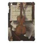 Sebastiano Lazzari Trompe - Violin and Music Notes iPad Mini Cover