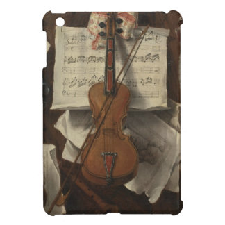 Sebastiano Lazzari Trompe - Violin and Music Notes iPad Mini Covers