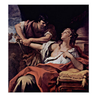 Sebastiano Ricci - Lucretia Poster