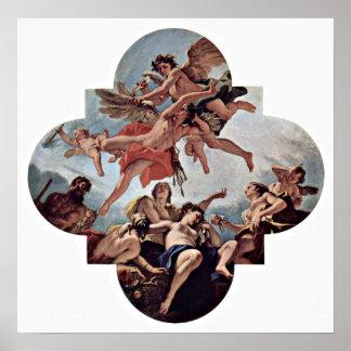 Sebastiano Ricci - The Punishment of Cupid Poster