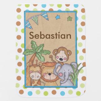Sebastian's Jungle Blanket
