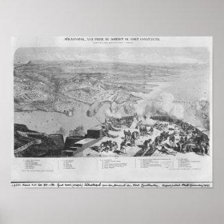 Sebastopol del fuerte Constantino Impresiones