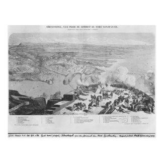 Sebastopol del fuerte Constantino Postal