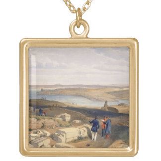 Sebastopol from Old Chersonese, plate from 'The Se Gold Plated Necklace