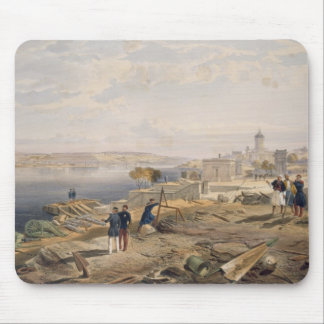 Sebastopol from the Rear of Fort Nicholas, plate f Mouse Pad