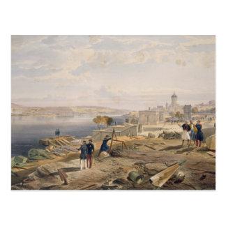 Sebastopol from the Rear of Fort Nicholas, plate f Postcard
