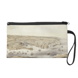 Sebastopol in All Its Glory, 1848, engraved by Day Wristlet Purse
