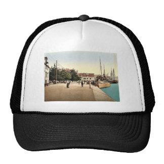 Sebenico, the alla water front, Dalmatia, Austro-H Trucker Hat