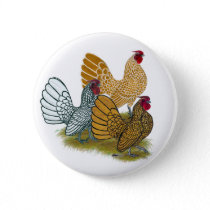 Sebright Rooster Assortment Button