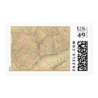 Sec 1 Brooklyn map Postage Stamp
