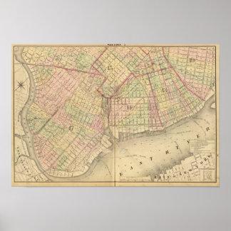 Sec 1 Brooklyn map Posters