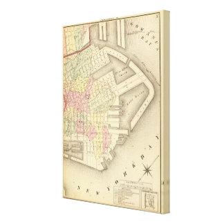 Sec 3 Brooklyn map Canvas Print