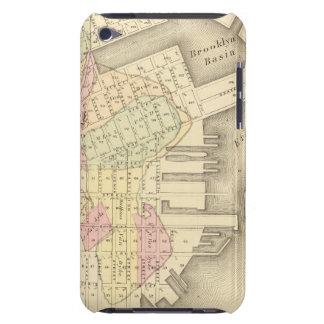 Sec 3 Brooklyn map iPod Touch Case-Mate Case