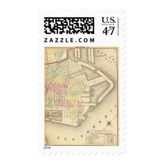 Sec 3 Brooklyn map Postage Stamp