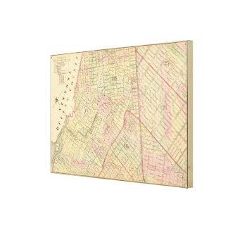 Sec 4 Brooklyn map Canvas Print