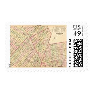 Sec 5 Brooklyn map Postage Stamp