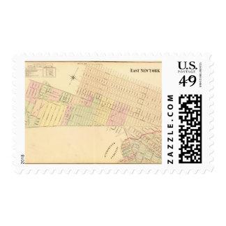 Sec 9 East New York Stamp