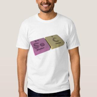 Sec as Se Selenium and C Carbon T-Shirt