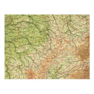 Sección del noreste de Francia, alrededores de Postales