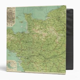 Sección del noroeste de Francia alrededores de Pa