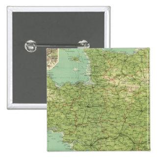 Sección del noroeste de Francia, alrededores de Pa Pins