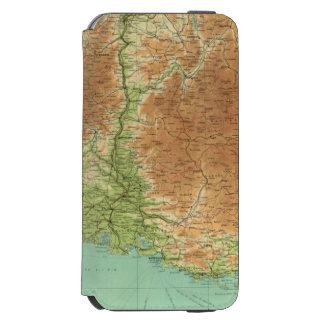 Sección del sudeste Córcega Marsella de Francia Funda Cartera Para iPhone 6 Watson
