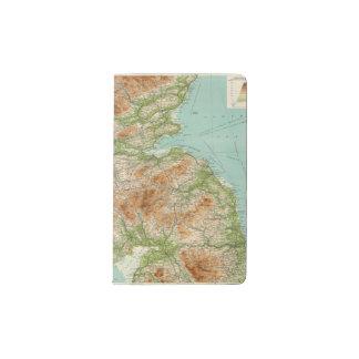 Sección del sur de Escocia Funda Para Libreta Y Libreta Pequeña Moleskine