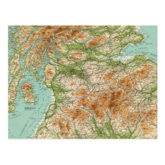 Sección del sur de Escocia Tarjeta Postal