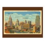 Sección Kansas City, MES del negocio del vintage Postal