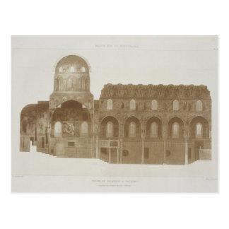 Sección representativa de la capilla de Palatine,  Postal
