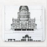 Sección representativa de la catedral de San Pablo Alfombrillas De Ratón