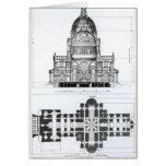 Sección representativa de la catedral de San Pablo Tarjeta De Felicitación