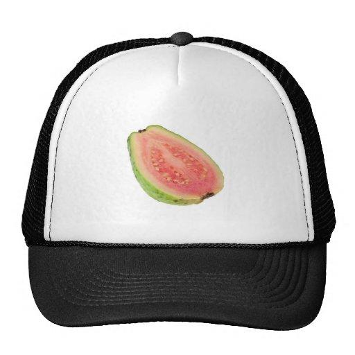 Sección representativa de una guayaba rosada gorras de camionero
