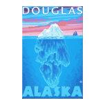 Sección representativa del iceberg - Douglas, Alas Impresión En Lienzo Estirada