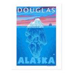 Sección representativa del iceberg - Douglas, Postal